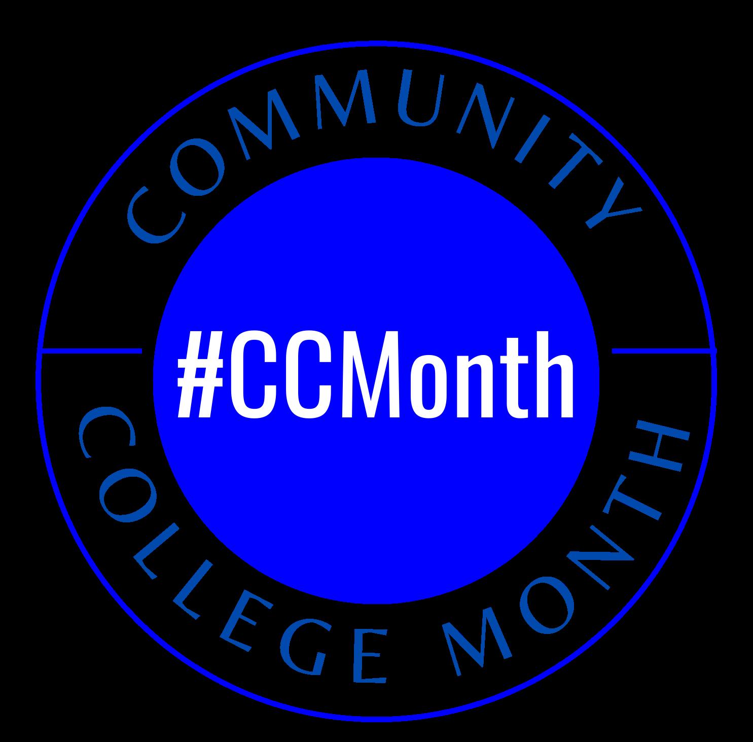Community College Month logo