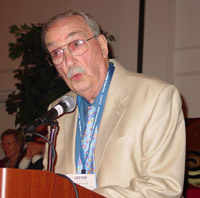 Lester F. Catlin is the first recipient of ICCTA's Lifelong Learning Award.