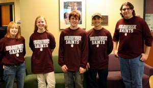 Shawnee Community College's 3rd-place College Bowl team